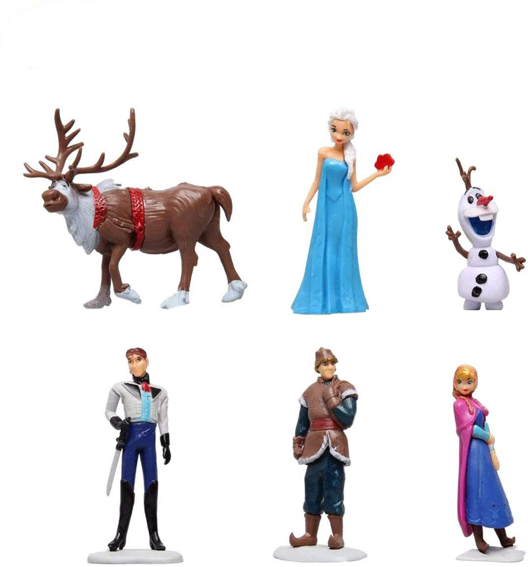 Frozen Cake Toppers for Kids Baby Shower Birthday Party Cake Decoration