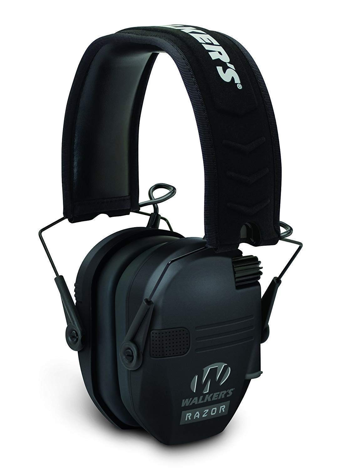 Walkers Razor Slim Electronic Hearing Protection Muffs with Sound Amplification and Suppression and Shooting Glasses Kit by Walkers (Image #3)