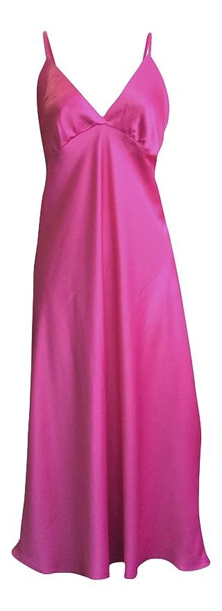 Sock Snob Mujer Vestido de satén Sedoso Ligero Antigua Tienda de la Cadena Chemise Noche: Amazon.es: Ropa y accesorios
