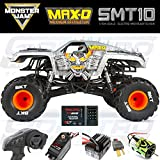 rc monster jam trucks - Axial SMT10 MAX-D Monster Jam 4WD RC Monster Truck Off-Road 4x4 Electric Ready to Run with 2.4GHz Radio and Waterproof ESC, 1/10 Scale RTR