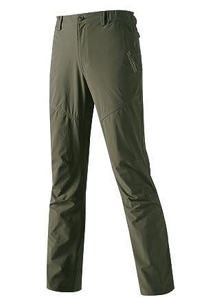 a5d02f25b4 Mr.Stream Elastisch Quick Dry Outdoorhose Herren Softshell Hose Lange  Schnell Trocknende Hosen Wanderhose: Amazon.de: Bekleidung