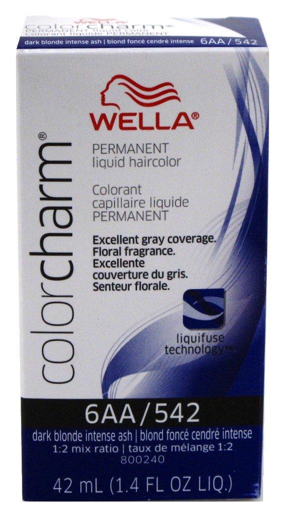 Wella Color Charm 6aa542 Dark Blonde Intense Ash Amazon Beauty