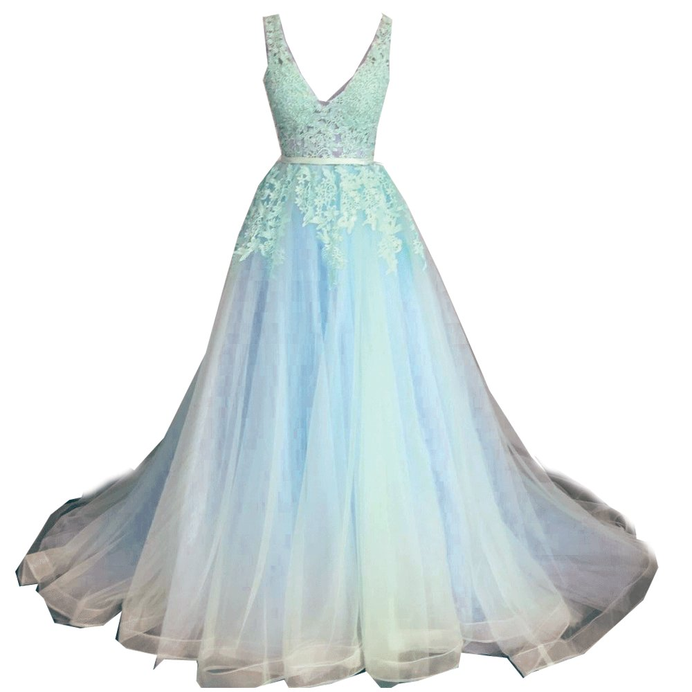 Amazon.com: SuperKimJo Soft Tulle Puffy Prom Dresses Cheap Floral ...