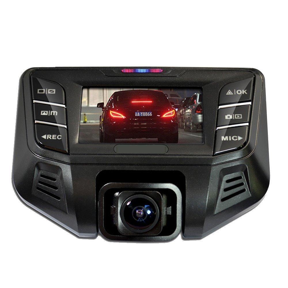 PowerLead Acoo Full HD coche cámara grabadora con GPS Logger 170 Degree Wide Angle Lens WDR noche G-sensor DVR para coche cámaras de copia de seguridad: ...