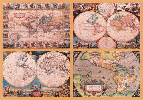 Ravensburger Piezas 18000 Mapamundi Historico: Amazon.es: Juguetes y juegos