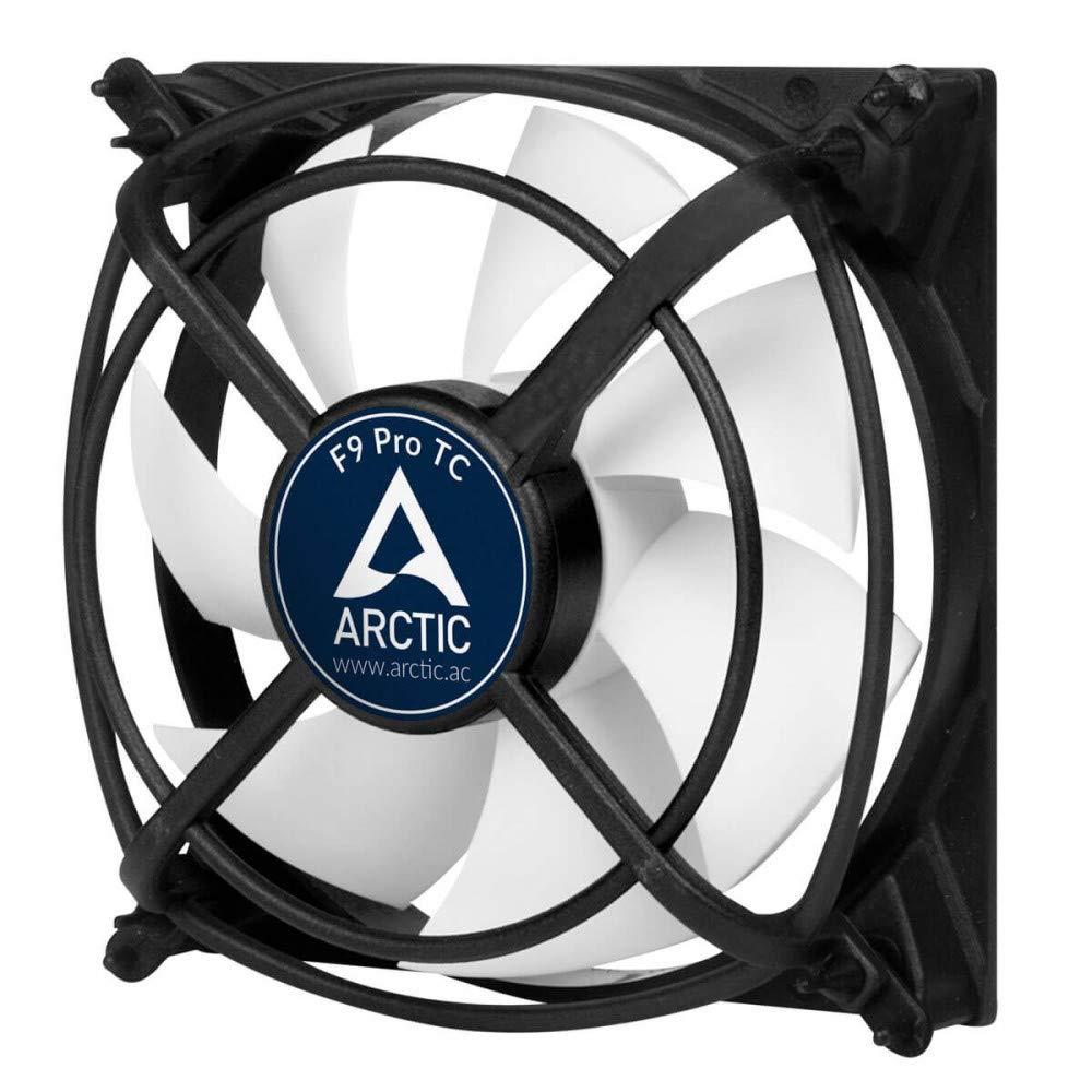 ARCTIC F9 PWM PST CO - 92 mm PWM PST Ventola Portatile Funzionamento Continuo | Cuscinetto Doppia Sfera | Collegamento PST (PWM Sharing Technology) | Regolato Sincorno RPM AFACO-090PC-GBA01 9cm Case Fan
