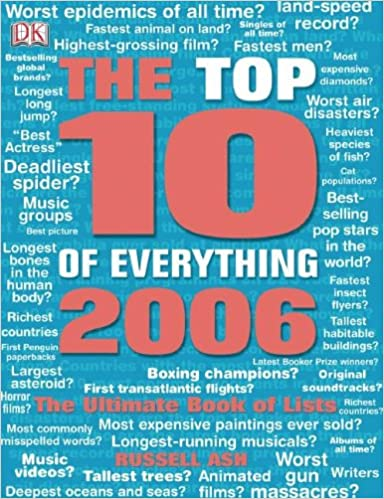 Top Ten of Everything: The Ultimate Book of Lists