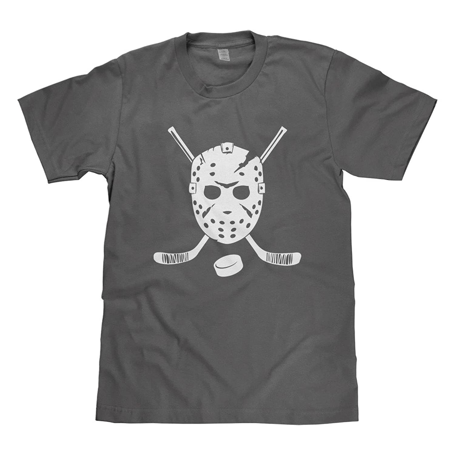Mixtbrand Big Boys' Goalie Mask and Hockey Sticks Youth T-Shirt