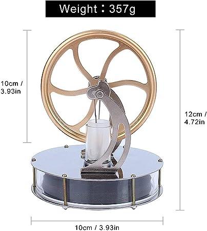 Yosoo Motor Stirling de Baja Temperatura Juego de Motor Gran ...