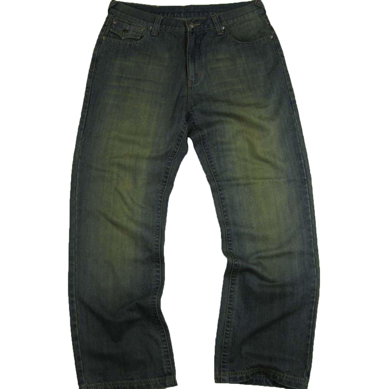 #M1425-M1549 Men's Relax Straight Leg Stylish Wash Premium Jeans Size: 36