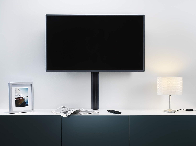Habengut - Cubierta de Cable de TV de PVC Negro para Ocultar los Cables por Debajo de la Pantalla Plana, 5 cm de Ancho, 1 m de Longitud: Amazon.es: Bricolaje y herramientas