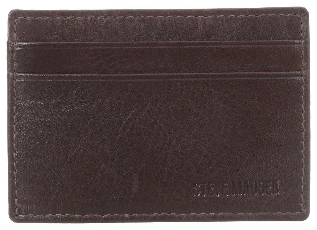 Steve Madden Men's Mealu Cardcase Cognac One Size Mundi Westport Child Code N80039