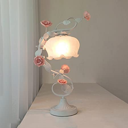 XIXI Lámpara de mesa de estilo europeo Dormitorio Lámparas de ...