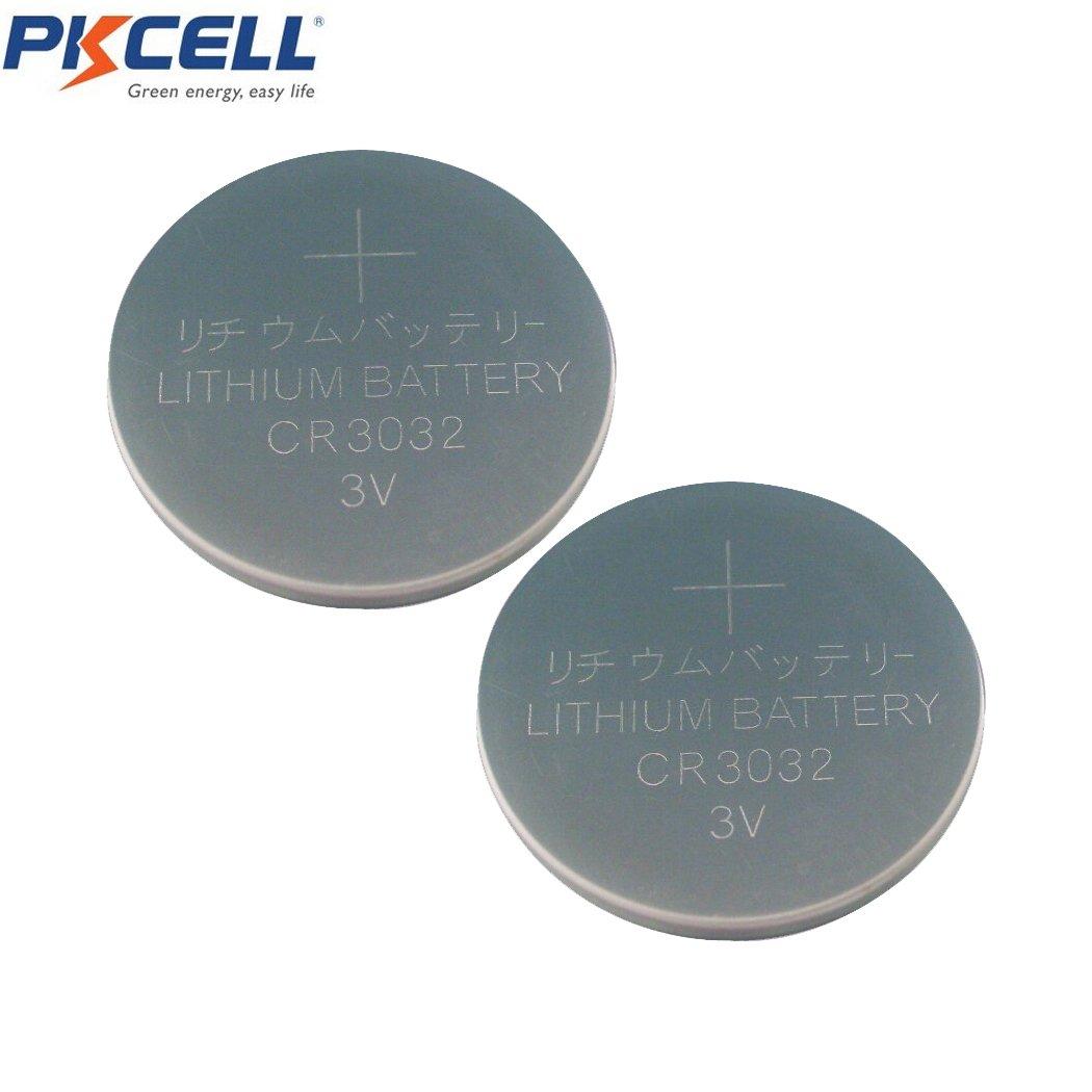 2pcs 3V 500mAh LCR3032 ECR3032 CR DL BR KCR D3032 Button Coins Battery