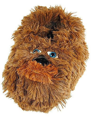 Star Wars - Little Boys Chewbacca Slippers, Brown 38203-L2-3