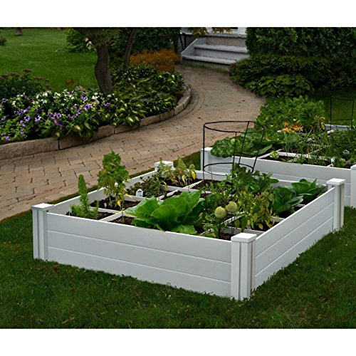 Vita Gardens 4x4 Garden Bed with Grow Grid, Packaging may vary ()