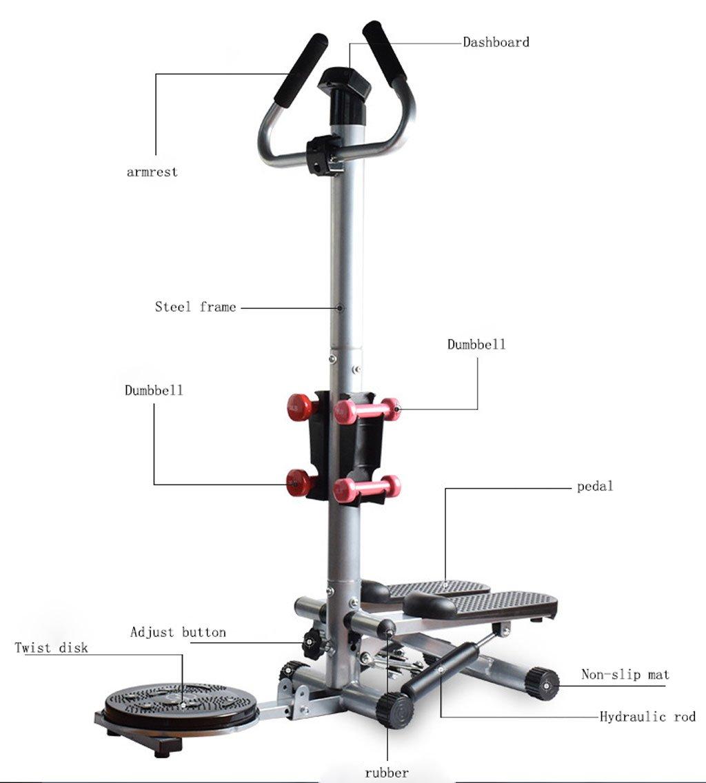 LY-01 M/áquinas de Step Stepper Home multifunci/ón Mute hidr/áulico Pedal Adelgazamiento Fitness Bodybuilding equipmentPure Fitness Mini Stepper
