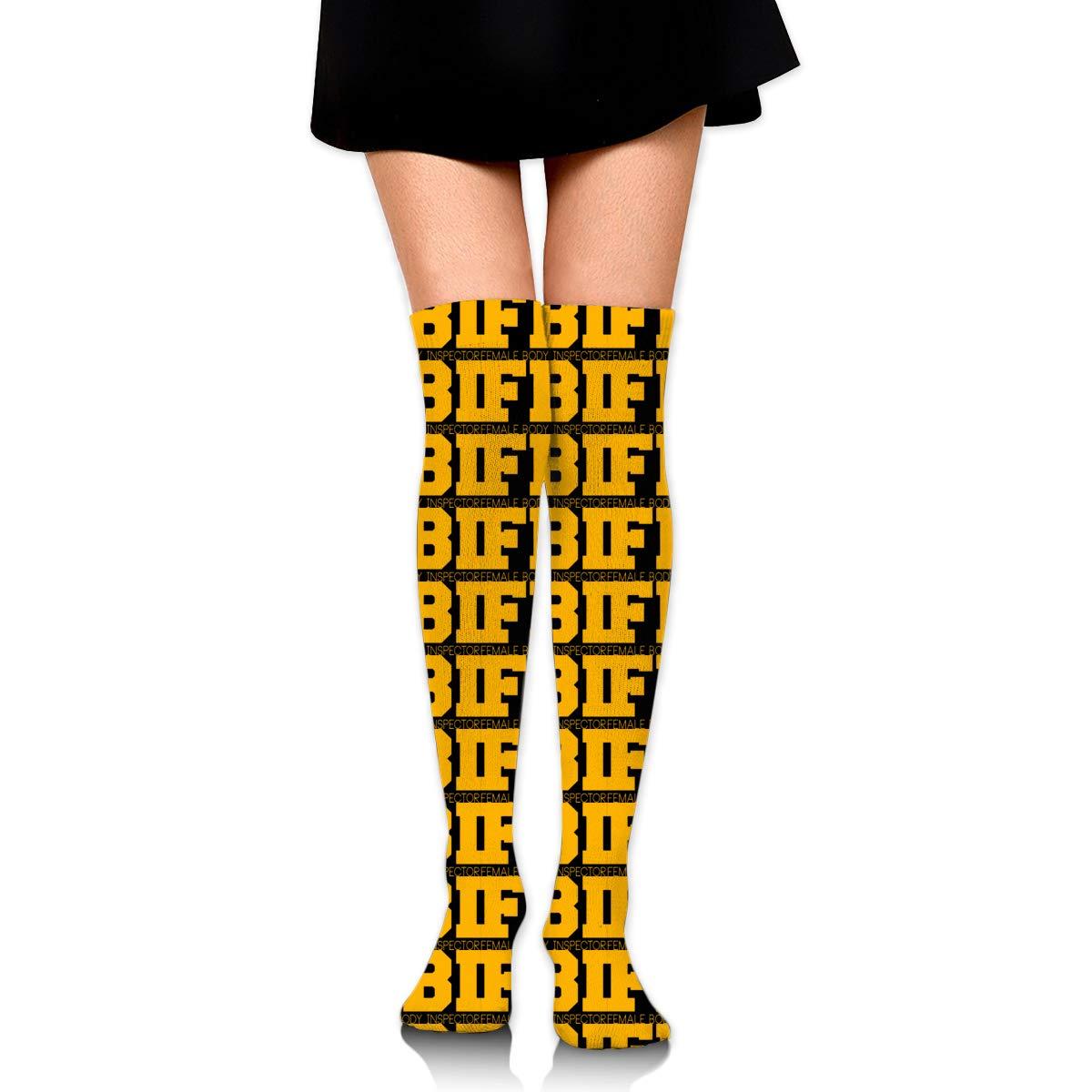 Amazon.com FBI Female Body Inspector Womens Over Knee Thigh