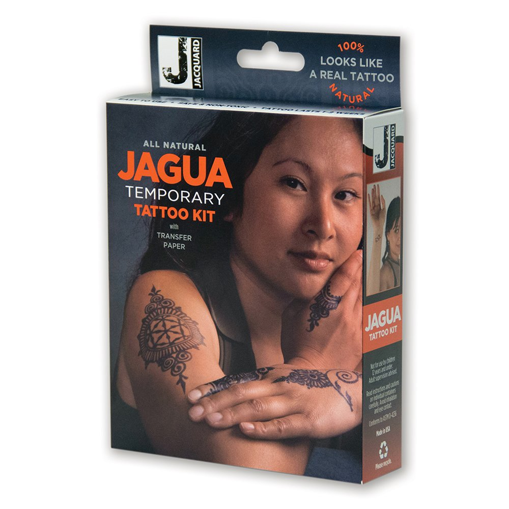 Jacquard Jagua Temporary with Transfer Paper Tattoo Kit (8 Piece)