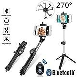 Selfie Stick Handheld Tripod Bluetooth Shutter (Blabk Handheld+Bluetooth Shutter)