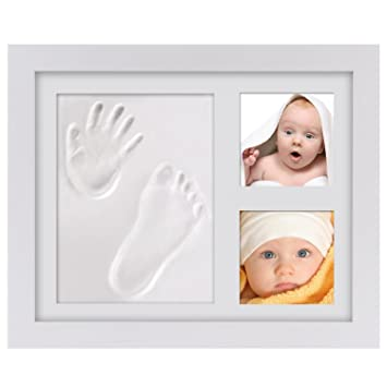 Amazon.com : Baby Keepsake Gifts, PChero Baby Handprint and ...