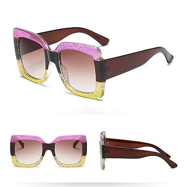 HCFKJ Mujeres Vintage Ojo De Gato Gafas De Sol Retro Gafas ...