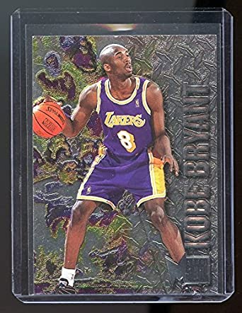 1996 97 Metal 181 Kobe Bryant Lakers Rookie Card Near Mint Condition Ships In A New Holder
