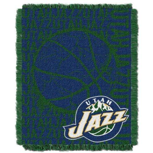 Northwest 019 NBA Utah Jazz 48 x 60-Inch Double Play Jacquard Triple Woven Throw