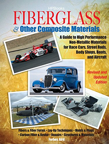 Fiberglass and Other Composite MaterialsHP1498: A Guide to High Performance Non-Metallic Materials for AutomotiveRacing and Mari ne Use. Includes Fiberglass, ... Carbon Fiber,Molds, Structures and - Glasses Mari