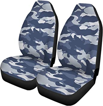 Amazon Com Pinbeam Car Seat Covers Navy Camouflage Wide Urban
