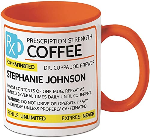 Current Prescription Personalized Coffee Mug