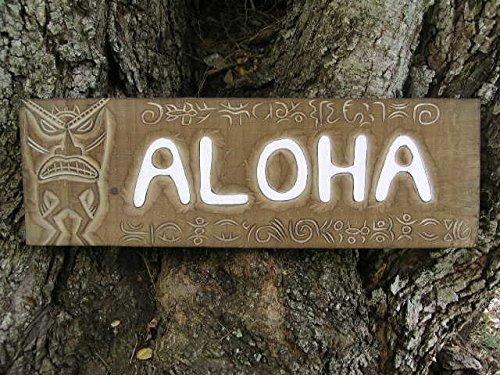 Aloha Tiki Sign -
