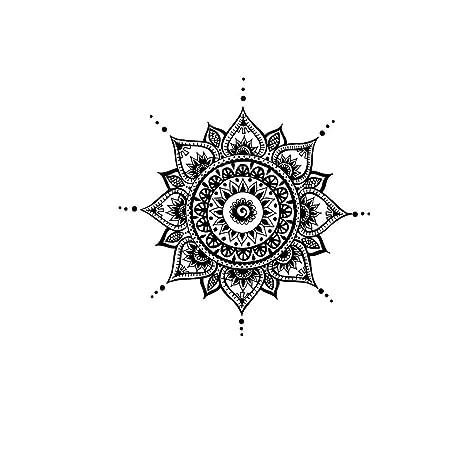 Amazon.com: Mandala Calcomanía de pared Yoga Studio – Vinilo ...