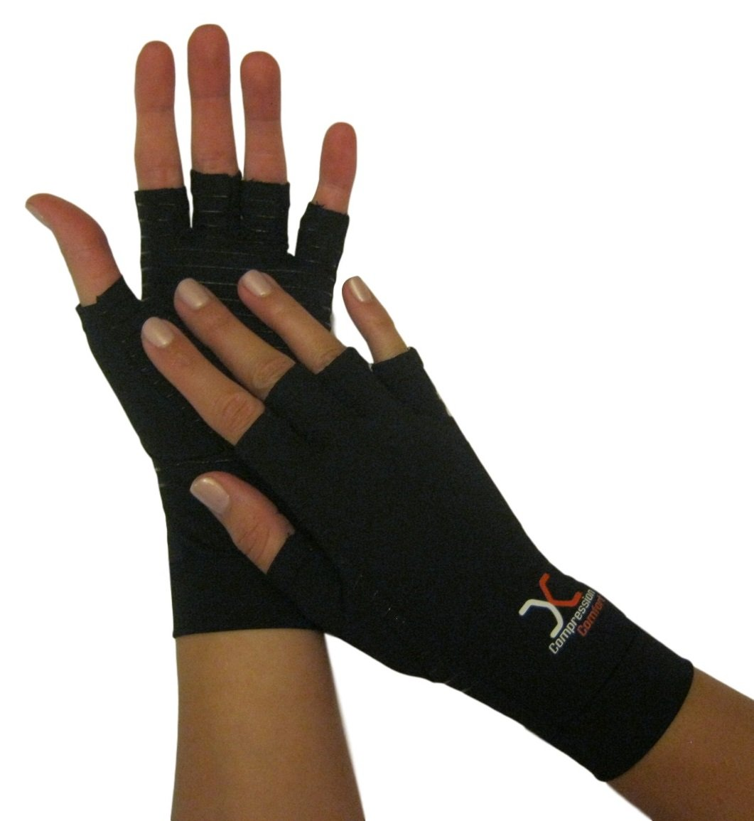 Driving gloves carpal tunnel - Amazon Com Best Compression Gloves With Copper Comfort For Carpal Tunnel Typing Support In Hands Fingers Highest Copper Percent Version 2 Pair
