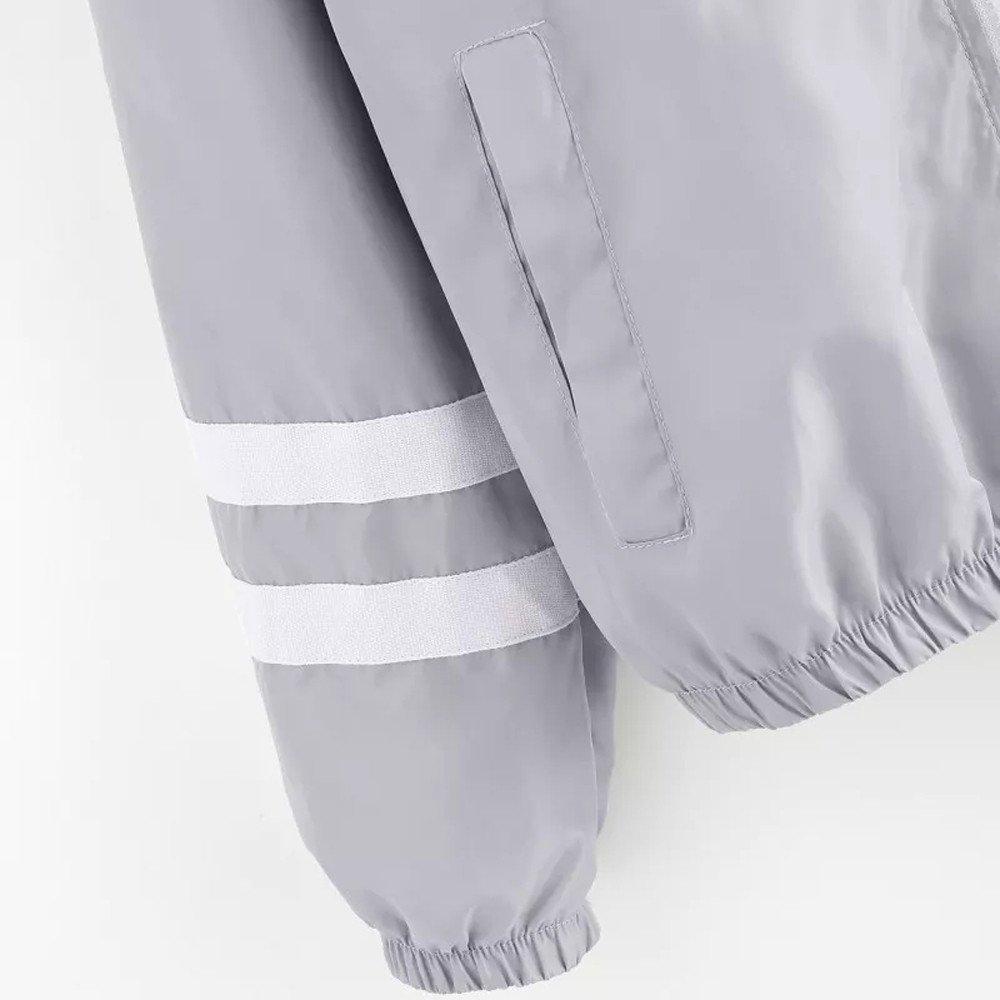 Startview Women Long Sleeve Patchwork Thin Skinsuits Hooded Zipper Pockets Sport Coat