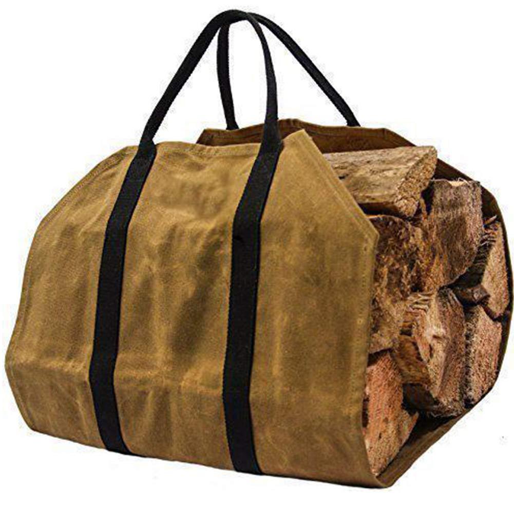 Holz-Tragetasche, fü r Kaminholz/Kaminholz/Camping, Strand, Picknicks SDYDAY