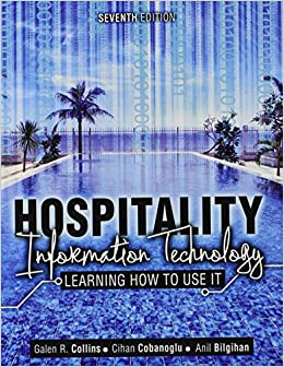 Book Hospitality Information Technology: Learning How to Use It