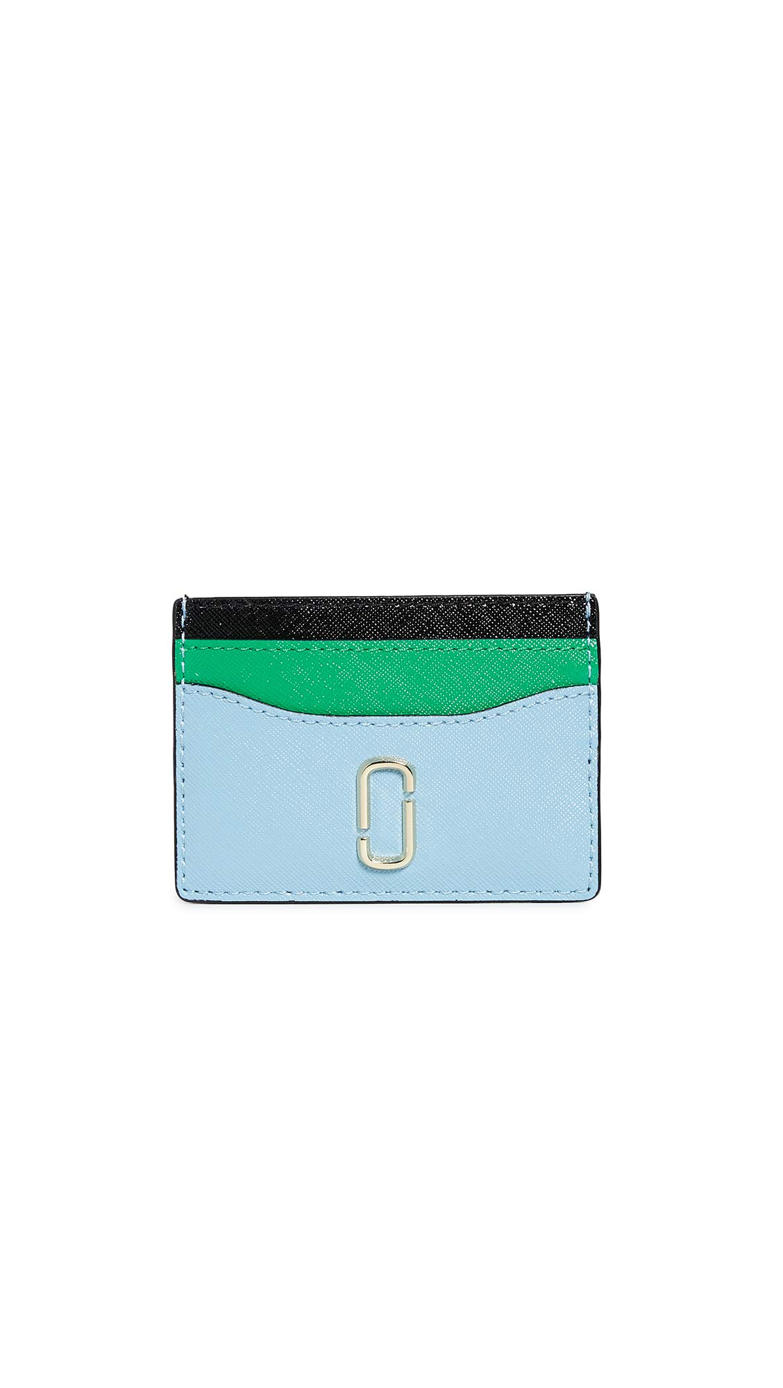 Marc Jacobs Women's Snapshot Card Case, Misty Blue, One Size