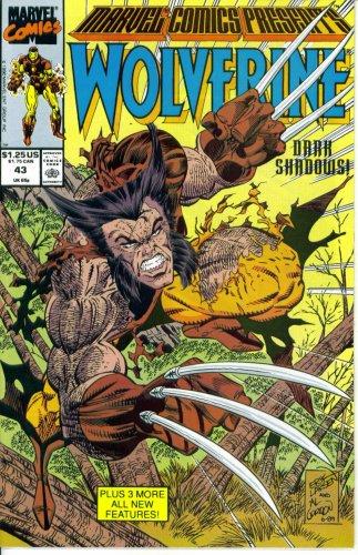 Marvel Comics Presents #43 : Featuring Wolverine, Wonder Man, Iron Man, and Siryn (Marvel Comics) -