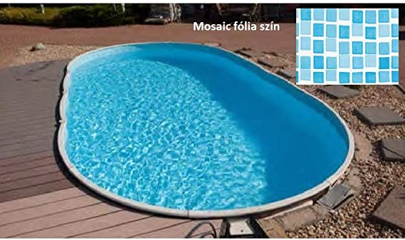 Mountfield AZURO Vario Wood V6 - Piscina de Pared de Acero (460 x ...