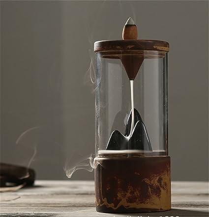 backflow incense burner  : Spie Backflow Incense Burner Holder Retro Ceramic ...