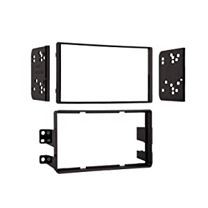 Metra 95-7405 2004-07 Nissan Titan Models Double-DIN Radio Dash Kit (Black)