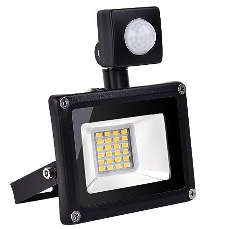 20w Foco led exterior Proyector,Foco sensor de movimiento ,Led Floodlight para Exterior Iluminación