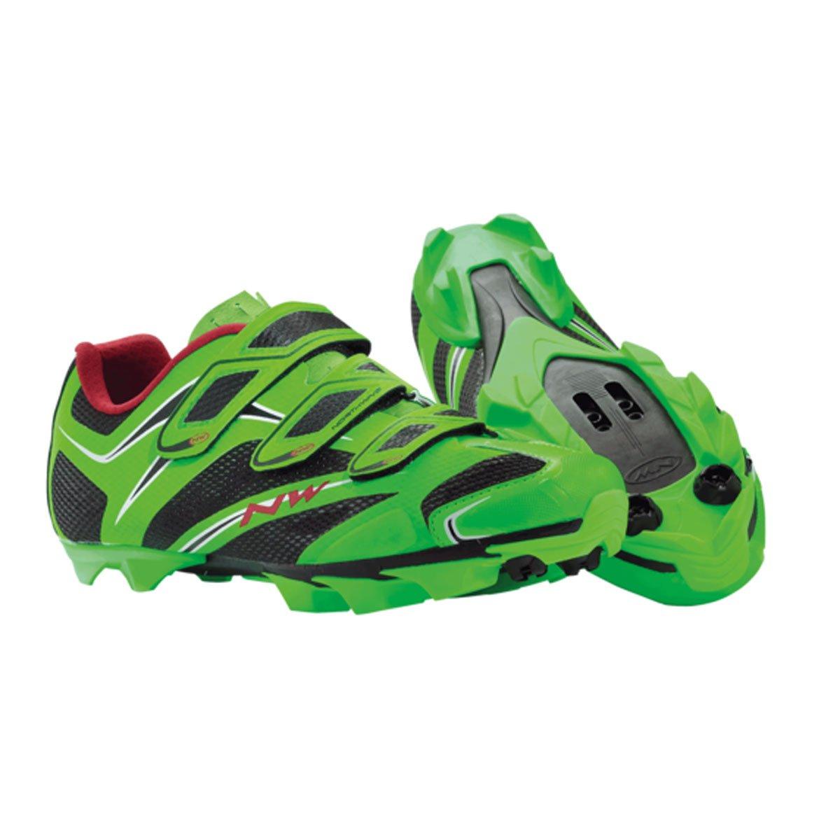 Zapatillas MTB Northwave Scorpius 3S Verde Fluo 2014: Amazon.es: Deportes y aire libre