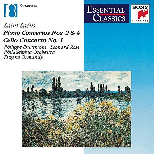 Saint-Saens: Piano Concertos No. 2 & 4 (Essential Classics)