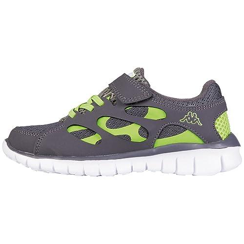Sneakers grigie per unisex Kappa Fox z8Bbr6z