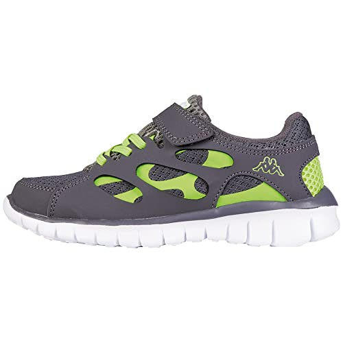 Sneakers grigie per unisex Kappa Fox tSrcf