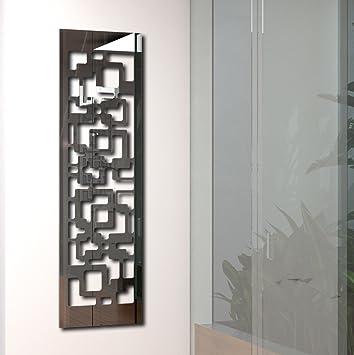 Kleiderständer Edelstahl Design wandgarderobe garderobe design downtown 140x40x2 cm edelstahl