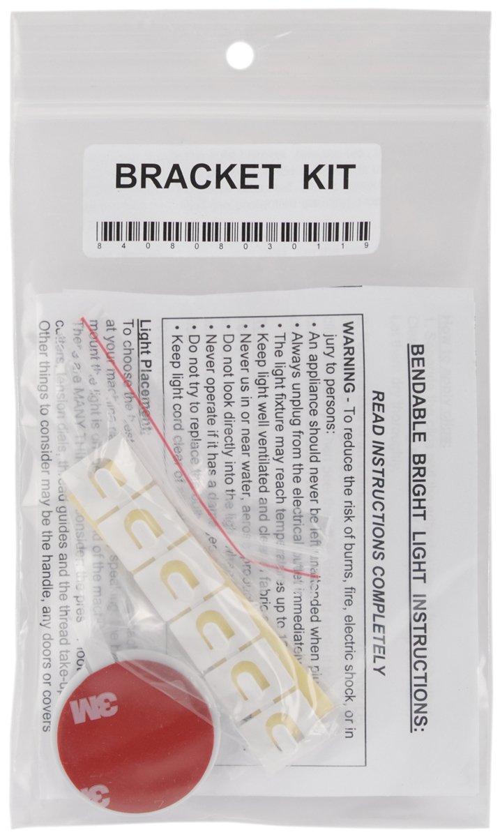 Bendable Bright Light Bracket Kit for Embellishment
