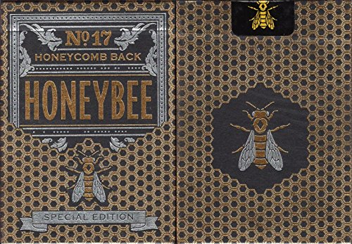 Honeybee Special Edition Playing Cards Poker Size Deck USPCC MetalLuxe by Penguin Magic